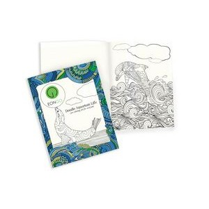 Travel Size 12 Sheet Coloring Book
